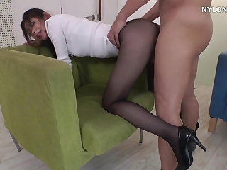 neighbour heels in pantyhose arrogant heels