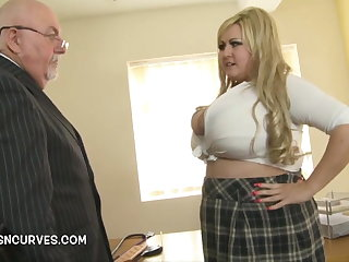 Licentious Padre gets his hands on Leah