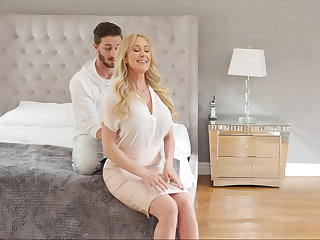 Stepmom's cum filled massage