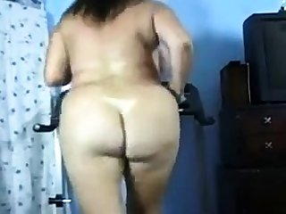 Of age BBW solo on webcam