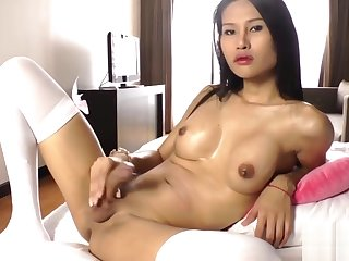 Asian ladyboy Sai