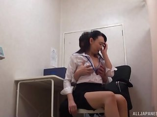 Japanese sob sister pussy licked and fucked missionary hardcore