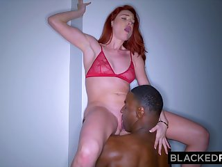 Ginger housemaid Lacy Hot Interracial Porn Video