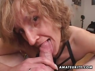 Mommy amateur sex wife gives adherent roughly ejaculate