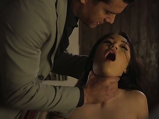 Kinky Asian gloominess Kendra Spade has to be plighted and mouthfucked