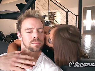 Madison Ivy is gonna make the beast with two backs thick-dicker Erik Everhard