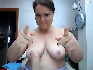 BBW with obese Bristols on webcam 2 asians p