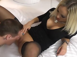 Hot Blonde Come with gets Fucked