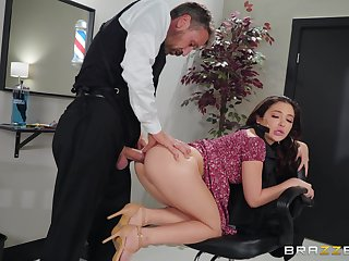 Classy enticing girl Jane Wilde's inseparable kink is anal fucking
