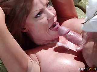 Mature pornstar Darla Crane loves about suck a dick after sex