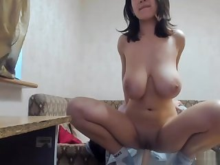 Russian babe Myla is such a sweetie, Bigtits and Shaved pussy