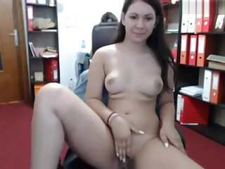Horny Girl Fatisa Masturbating at Office (21 Minutes Sound Version)