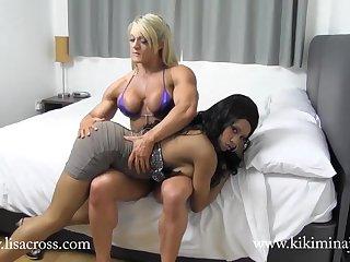 Kiki Minaj Muscle Worship