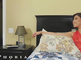 BiPhoria - Latin Bisexual Couple Seduce Their Handyman