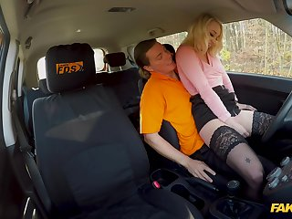 Teenage Marilyn Sugar's sex education in the matter of will not hear of driving instructor