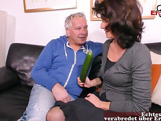 German ugly chunky mature housewife cucumber be thrilled by