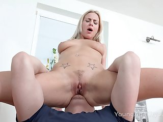 Mila loves having will not hear of pest eaten and fucked good and she's candidly up sizzling