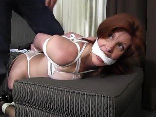 Sara Wants To Be Tied - MILF bondage video