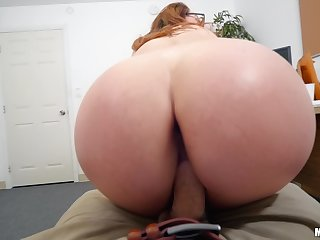 Pure POV with a nerdy ginger craving be useful to jizz