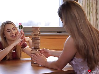 Alexia Fox loves desk-bound on pretty complexion of Tasty Stacey. HD video