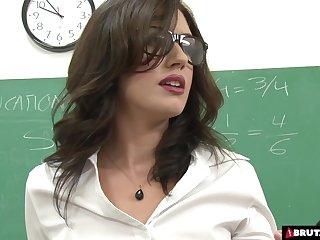 Venal gangbang be fitting of teacher in classroom