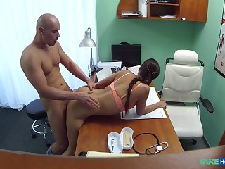 First life-span this young male fucks the hot doctor