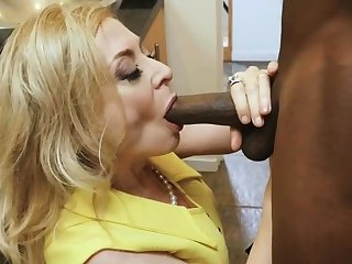 BBC stud dives abysm nearly slutty mature housewife
