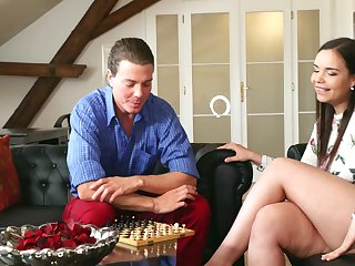 Tall thick Czech pamper with huge breasts Sofia Lee is always eager to fuck