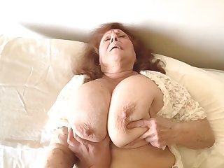Naughty Granny Satisfies Edacious Desire For Young Cock