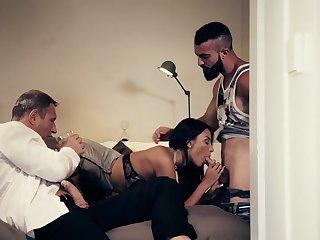Cum, Group, Pornstar, Threesome, Cum in mouth, Sex,