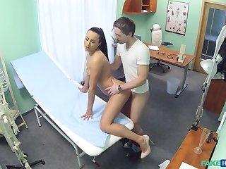 Nurse fucks patient to get a sperm sample