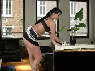 Aberrant damsel Simony Diamond gets her botheration fucked by a black dude